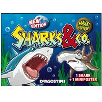 & Co Sharks Maxxi Edition Blind Pack DeAgostini 16193-S