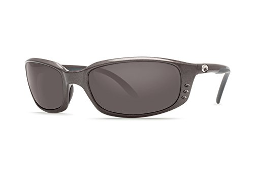 Costa Del Mar Brine Sunglasses, Gunmetal, Gray 580P - Sunglasses Women Whose For