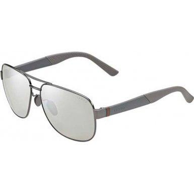 Gucci Sunglasses - 2260 F / Frame: Dark Ruthenium Lens: Silver Mirror