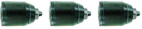 - Rohm 893352 Type 104-61 Extra-RV13 Metal Single Sleeve Keyless Drill Chuck with Radial Lock and Through-Hole, 1/2