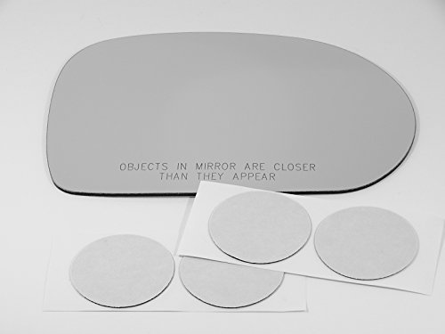 - Fits 03-06 Inf G35 Sedan, Right Passenger Mirror Glass Lens with Adhesive, USA