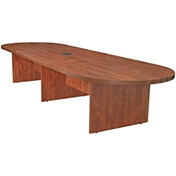 Amazoncom GOF Race Track Conference Tableft W X D X H - Hon boat shaped conference table