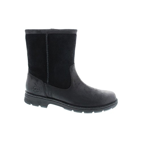 UGG Men's Foerster Black Leather Boot 14 3E - Extra Wide by UGG
