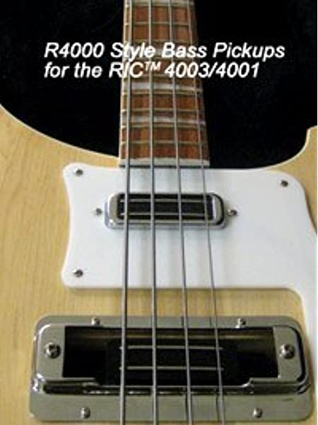 Amazon Com Jbe Pickups Joe Barden R4000 Pickup Set Rickenbacker 4003 4001 Bass Musical Instruments