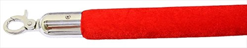 - Red Velour Decorative Rope in Mirror Finished with 72