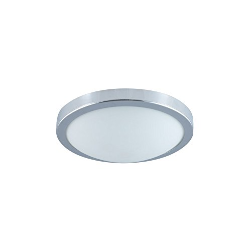 Jesco Lighting CM322S MoonLight 1-Light Ceiling and Wall Mount, Chrome, Small