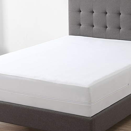 EXQ Home Zippered Mattress Encasement Twin XL Size 100% Bed Bug Proof,Dust Mite Proof Waterproof Mattress Cover (Hypoallergenic, Breathable)