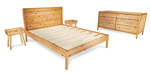 Mid-Century Modern 4-Piece Bedroom Furniture Set