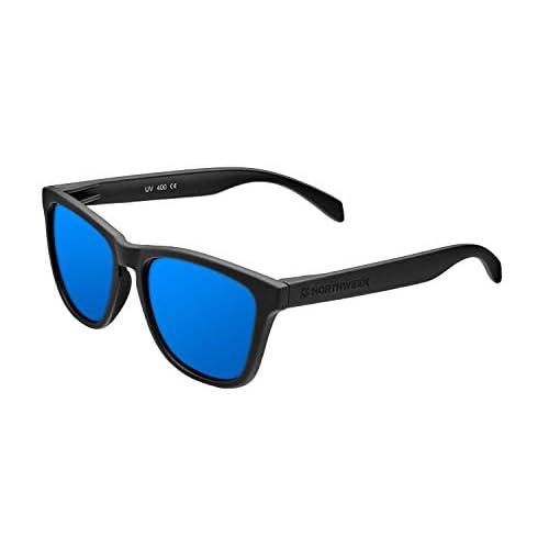 Northweek Regular Jibe - Gafas de Sol para Hombre y Mujer, Polarizadas, Negro/Azul a buen precio