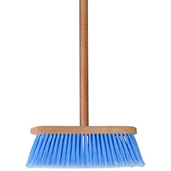 Amazon Com Boar Hair Broom Blonde Made In Italy Home