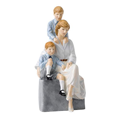 Royal Doulton Collectors Edition of 2000 Remembering Diana A Loving Mother 8.3