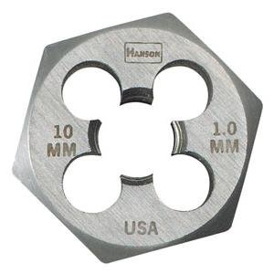 Metric Threading Dies - High Carbon Steel Metric Hexagon Dies - die 16mm-2.0 1-7/16 hexhanson