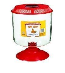 Hagen A1516 Fin Pals Goldfish Bowl, Large, Assorted Colors, My Pet Supplies
