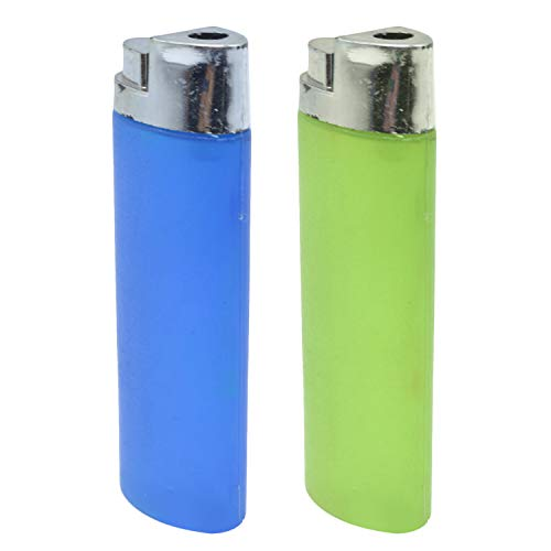 Gosear Trick Toys, Joke Toys 2PCS Funny Squirting Water Lighter Trick Joke Toys for Kids Adults April Fools Day Theme Party Carnival Daily Use Random Color -