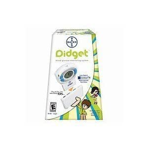 Bayer Didget Blood Glucose Testing Meter, (Pack of 1)