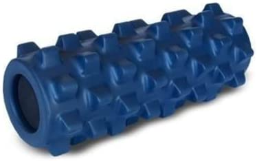 """Black Full 31/"""" RumbleRoller Muscle Foam Roller Portable Extra Firm Textured"""