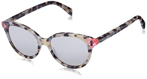 Marc by Marc Jacobs Women's MMJ461S Round Sunglasses, Havana Fuchsia & Havana, 51 mm
