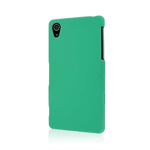 Empire MPERO SNAPZ Series Rubberized Case for Sony Xperia Z2 - Retail Packaging - Mint Green
