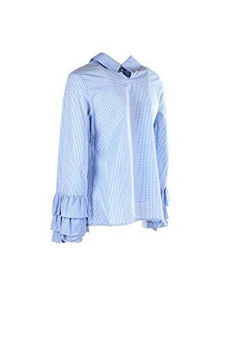 LE STREGHE Camicia Donna Celeste P17ml101 Primavera Estate 2017