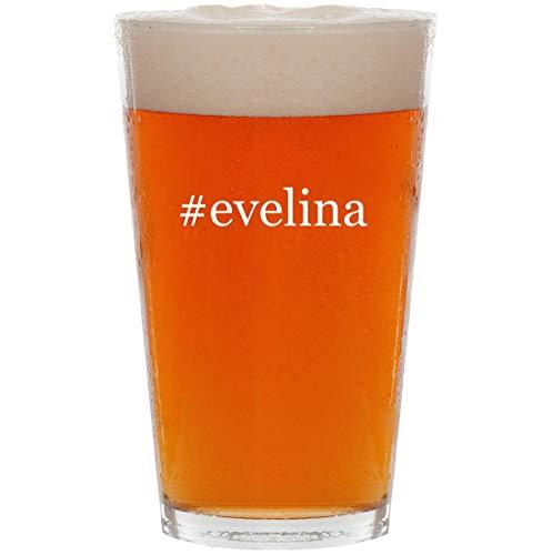 #evelina - 16oz Hashtag Pint Beer Glass