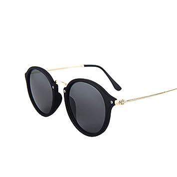 YUHANGH Gafas De Sol Negras para Mujer Gafas De Sol con ...