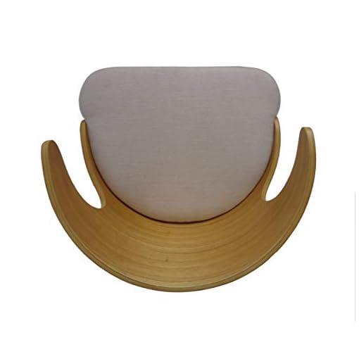 Kitchen GDFStudio 304583 Truda Mid Century Modern Fabric Barstools | Set of 2, Light Beige/Natural modern barstools