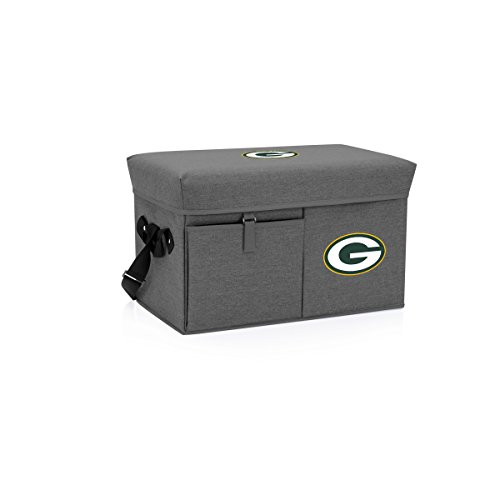 NFL Green Bay Packers Ottoman Insulated Collapsible Cooler/Picnic Tote
