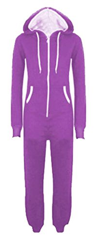 Chocolate Purple Size Jumpsuits M Plus One One Pickle Neue All ® Unisex 5XL Kapuzenstrampler Piece In fwrf1qH