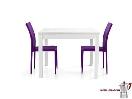 TABLES&CHAIRS tavolo da pranzo bianco legno frassino ...