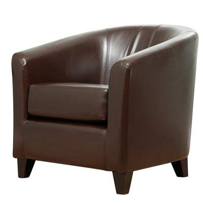 Super Amazon Com Faux Leather Accent Chair With Removable Unemploymentrelief Wooden Chair Designs For Living Room Unemploymentrelieforg