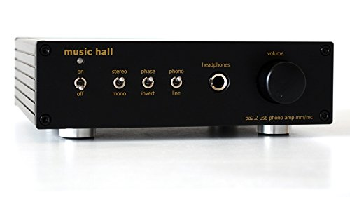 (Music Hall pa2.2 MM/MC Phono Preamplifier with Analog to Digital)