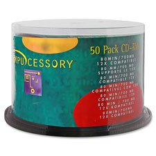 CD-RW,Branded Surface,700MB/80 Minute Cap,12X Speed,50/PK, Sold as 2 Package, 50 Each per Package