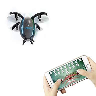 YAMEIJIA RC Drohne 4 Kanal 6 Achse WiFi mit 720P HD Kamera RC Quadcopter WiFi FPV LED Beleuchtung eines Schlüssels zum Auto-Return Headless Modus