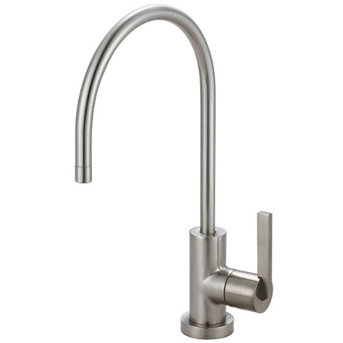 Kingston Brass Gourmetier KS8198CTL Continental Single Handle Water Filtration Faucet, Satin ()