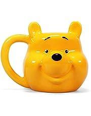 Half Moon Bay 3D The Pooh Winnie beker, geel, 500 ml - 15 W x 12 H x 13 cm (D)