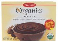 European Gourmet Bakery Organics Cooked Pudding & Pie Filling Mix Chocolate -- 3.5 oz