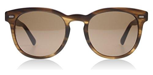D&G Dolce & Gabbana Men's 0DG4254 Round Sunglasses, Striped Matte Tobacco, 51 - Wayfarer Sunglasses D&g