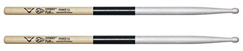 Vater Power 5A Extended Play Wood Tip Drum Sticks, Pair