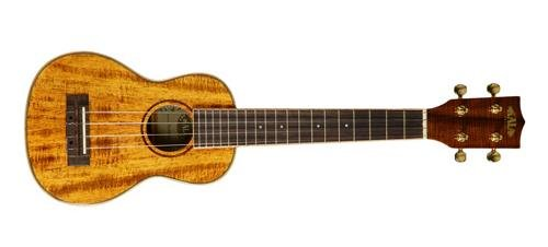 Kala KA-KSLNG Hawaiian Koa Long Neck Soprano Ukulele by Kala