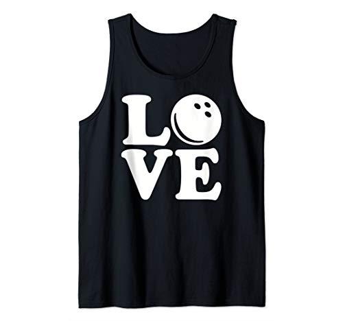 (Bowling love Tank Top )