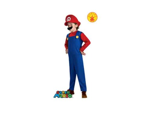 Super Mario Brothers, Mario Costume, (Costumes For 12 Year Olds Boys)