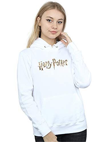 Potter Mujer Harry Logo Full Blanco Capucha Colour 46wqH