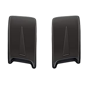 "Wade 72-13011 30"" Paintable Hood Scoops With Racing Accent - Pack of 2"