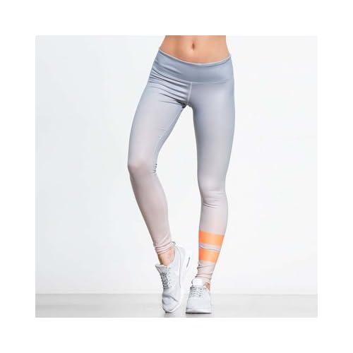 1645a413137a1 MAYUAN520 Deporte pantalones de cintura alta mujer pantalones de yoga  pantalones deportivos elástica ejecutando pantalones Yoga