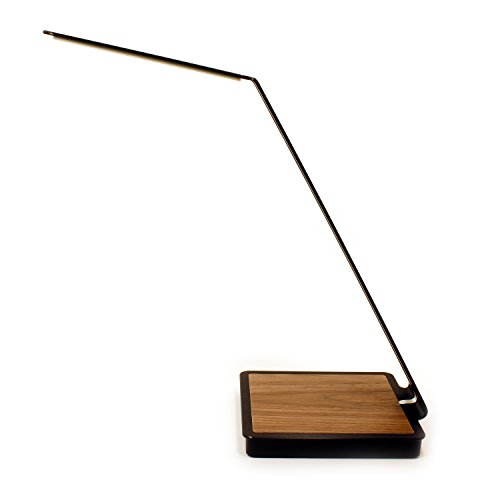 aerelight A1 Glare-Free OLED Desk/Table Lamp with Wireless Charging, Black by aerelight