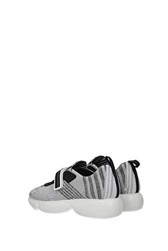 Argent Sneakers Prada Tissu Femme Eu 1e651inylonteccolor n0gZ4U1ZA