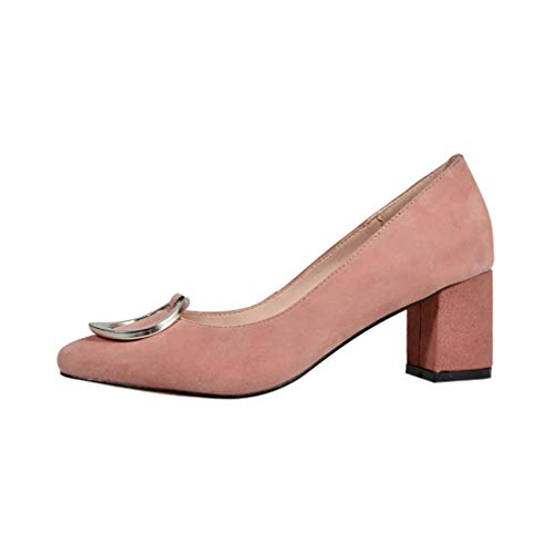 On Donna Vaneel Pumps 6cm toe Square Rosa Scarpe Vadxst Slide OYxr1Od