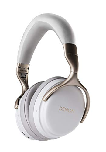 Denon AH-GC30 Premium Wireless Noise-Cancelling Headphones - Hi-Res Audio Quality | Up to 20 hours of Bluetooth and Noise Cancelling | Designed for Comfort | Battery-saving Auto-Standby Mode | -
