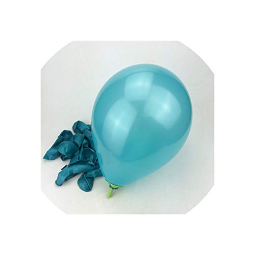 10Pcs 10Inch 1.5G Latex Helium Balloon Thickening Pearl Party Balloon Party Ball,Tiffany]()
