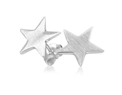 VINANI Ohrstecker Easy Star Silber 925 Ohrringe OES